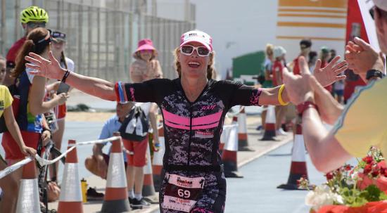 Angelika Fanai-Nimmesgern, Ironman Lazarote 2018