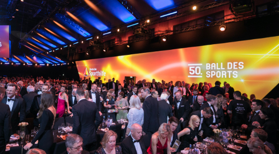 50. Ball des Sports in Wiesbaden